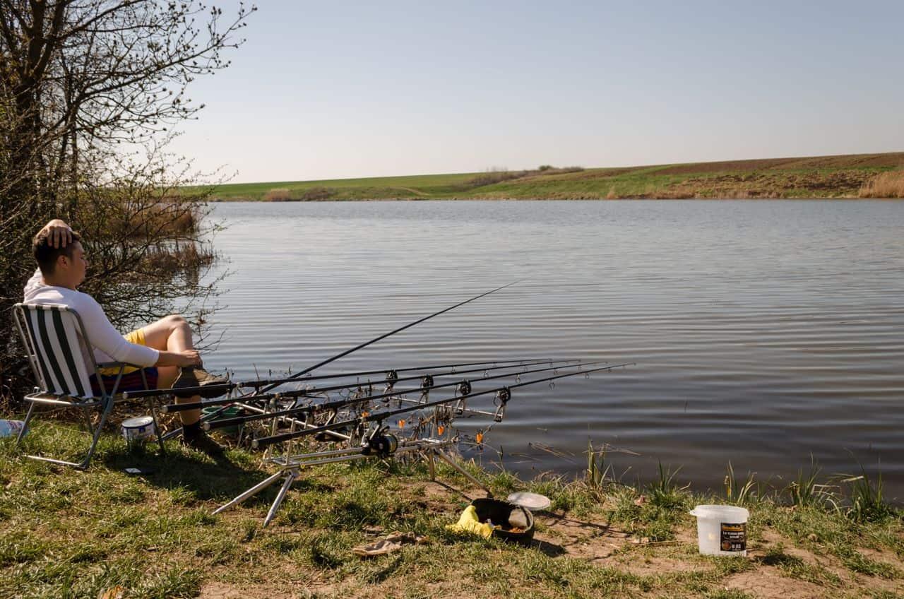 Pescuit la crap la plantat pe balta langa Bucuresti