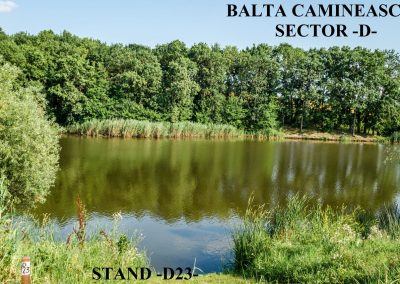 Balta Camineasca Stand Pescuit D23
