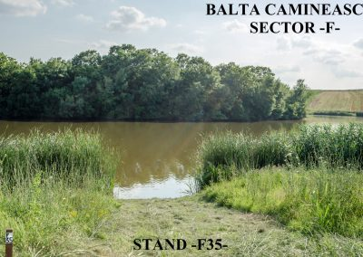 Balta Camineasca Stand Pescuit F35